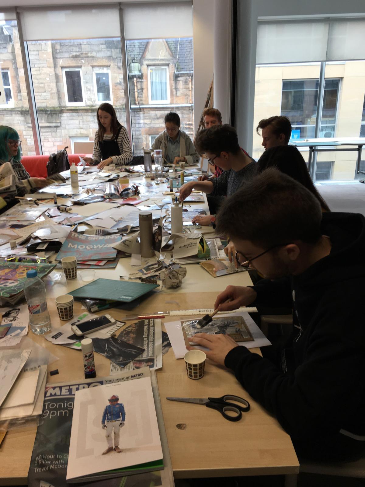 Workshops | Edinburgh Collage Collective, Collage workshops